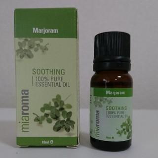 Miaromaのマジョラムのエッセンシャルオイル アロマオイル  イギリスで購入(エッセンシャルオイル(精油))