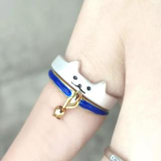 ネコリング・青(リング(指輪))