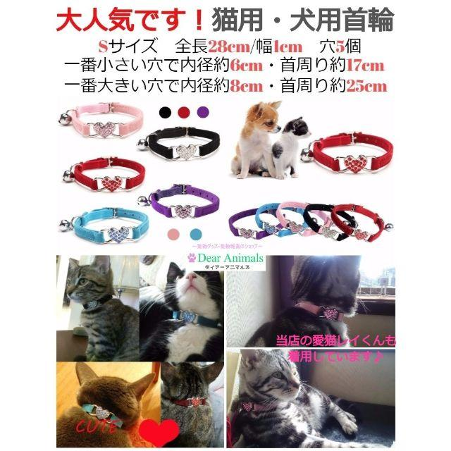 きら様ご予約商品になります。赤色・ピンク色2本セット。 その他のペット用品(猫)の商品写真