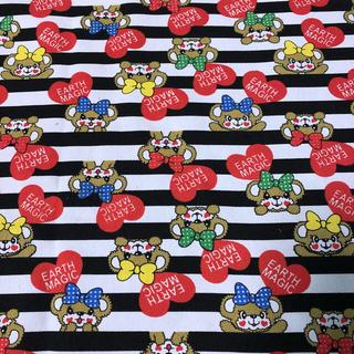アースマジック(EARTHMAGIC)の【早い者勝ち‼︎】海外輸入 生地 帆布(50×50)アースマジック マフィー(生地/糸)