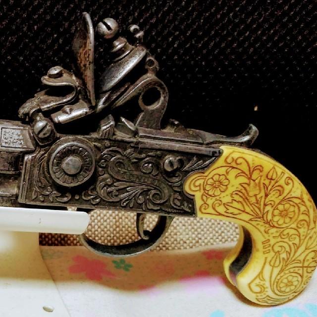 1750年代ロンドンのレプリカ銃の...