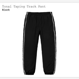 シュプリーム(Supreme)の込 黒 Supreme Tonal Taping Track Pant S(ワークパンツ/カーゴパンツ)
