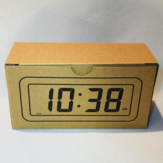 MUJI (無印良品) - 無印良品 デジタル時計・小