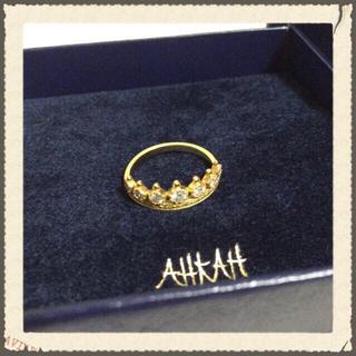 アーカー(AHKAH)の▼値下▼!AHKAH♡リング#8(リング(指輪))