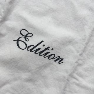 エディション(Edition)の使い方色々【ショップバッグ】Edition 布製ショップバッグ 白色(ショップ袋)