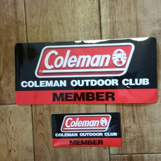 コールマン(Coleman)のコールマンステッカーセット(ステッカー)