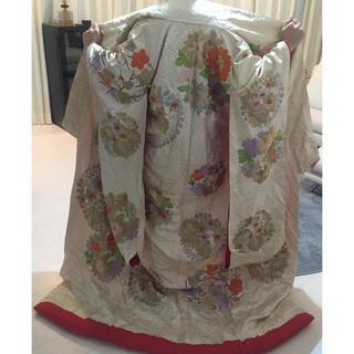和装色打掛花嫁衣装着物(着物)