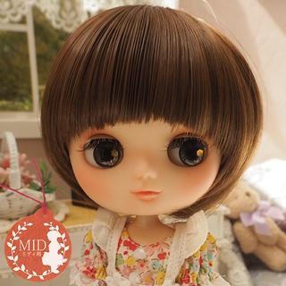ミディブライス ウィッグ マッシュルーム MB 7.5インチ/Blythe(人形)