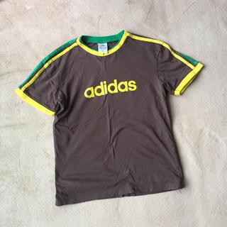 アディダス(adidas)のadidas スポーツ Tシャツ 150 茶色(トレーニング用品)
