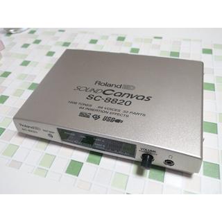 ローランド(Roland)のSC-8820(音源モジュール)