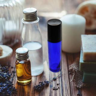 ロールオンボトル 10本セット 10ml 遮光瓶 アロマオイル 香水 虫よけ 詰(日用品/生活雑貨)