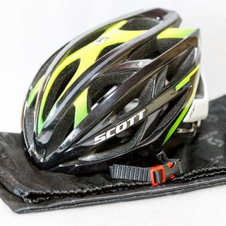 スコット(SCOTT)の【中古】スコット ロードバイク用ヘルメット(ウエア)