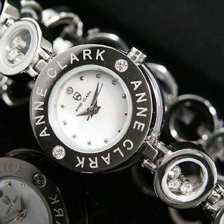 アンクラーク(ANNE CLARK)のアンクラーク 腕時計 レディース ブランド シルバー ブレスレット 感覚(腕時計)