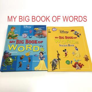 disney dwe my big book of words ディズニー英語システムの通販