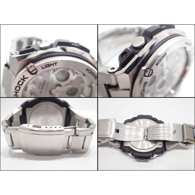 CASIO(カシオ)のA646 Gショック Gスチール GST-W110D ホワイト文字盤 メンズの時計(金属ベルト)の商品写真