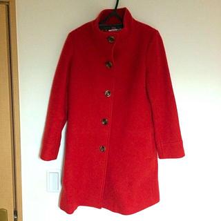 ナチュラルビューティーベーシック(NATURAL BEAUTY BASIC)の真っ赤なコート☆(ロングコート)