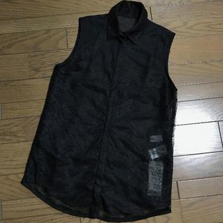 ルシェルブルー(LE CIEL BLEU)の新品ルシェルブルー ブラックレースブラウス(シャツ/ブラウス(半袖/袖なし))