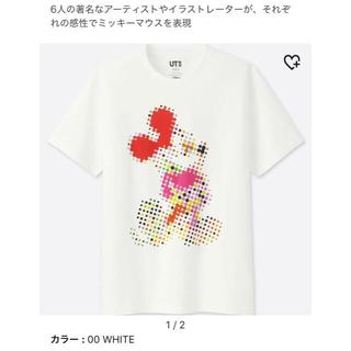 ユニクロ(UNIQLO)のミッキー Tシャツ XL(Tシャツ/カットソー(七分/長袖))