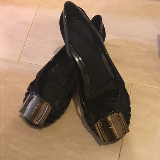 フェラガモ  ラバーシューズ(レインブーツ/長靴)