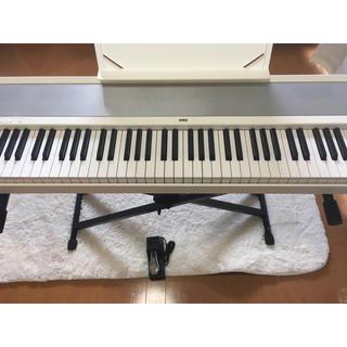 コルグ(KORG)のKORG 電子ピアノ 白 88鍵盤 スタンドつき(電子ピアノ)