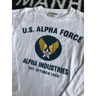 アルファ(alpha)のALPHA キッズ ロンT 140cm(Tシャツ/カットソー)