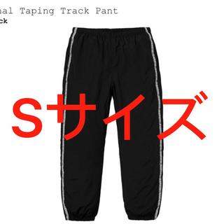シュプリーム(Supreme)のSupreme Tonal Taping Track Pant Black(ワークパンツ/カーゴパンツ)