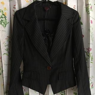 スパイシーマーマレード(SPICY MARMALADE)のスパイシーマーマレード♡ストライプ スカートスーツ レースアップ(スーツ)