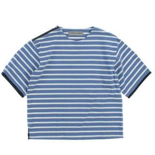 ドゥロワー(Drawer)のシークレットクローゼット ボーダープルオーバー(Tシャツ(半袖/袖なし))