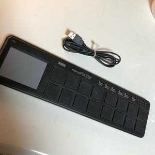 コルグ(KORG)のKORG nanoPAD(MIDIコントローラー)