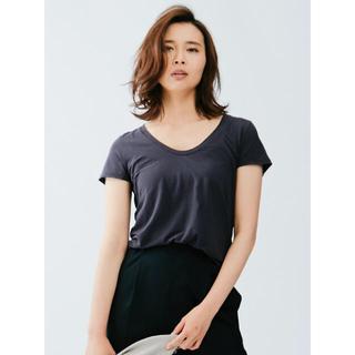 カリテ(qualite)のQualite カリテ ☆ SZ天竺Tシャツ 36(Tシャツ(半袖/袖なし))
