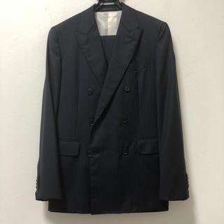 バーニーズニューヨーク(BARNEYS NEW YORK)の美品 バーニーズニューヨーク ロロピアーナ ダブル スーツ S7-8(スーツジャケット)
