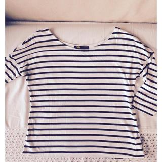 エディットフォールル(EDIT.FOR LULU)のボーダーTシャツ(Tシャツ(長袖/七分))