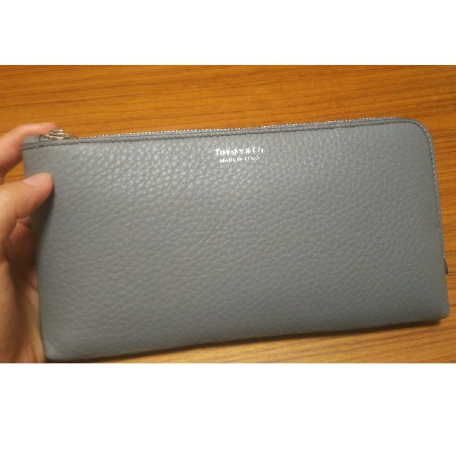 buy online 2707d 25aa1 ティファニー 長財布 シルバーグレー   フリマアプリ ラクマ