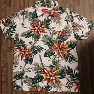 シュプリーム(Supreme)のsupreme  アロハポロシャツ Lサイズ(ポロシャツ)