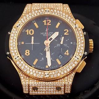 ウブロ(HUBLOT)のウブロ★ビッグバン★44ミリ★301.PB.131.RX★フルダイヤ(腕時計(アナログ))