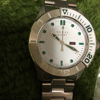 グッチ(Gucci)の新品同様 コマ調整したのみ グッチGタイムレススポーツ腕時計(腕時計(アナログ))