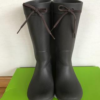 クロックス(crocs)のクロックス crocs レインブーツ 長靴 24cm 8w(レインブーツ/長靴)