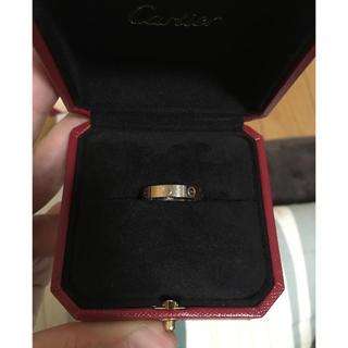カルティエ(Cartier)のカルティエ ミニ ラブリング(リング(指輪))