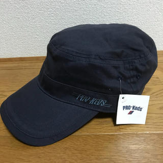 PRO-Keds - 【新品、未使用、タグ付き】 プロケッズ  ワークキャップ ネイビー 58cm