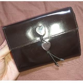 モスキーノ(MOSCHINO)のMoschino モスキーノ 財布 ブラウン ヴィンテージ(財布)