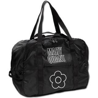 マリークワント(MARY QUANT)の今期マリークワント新品ロゴデイジーボストンエコバッグ黒(エコバッグ)