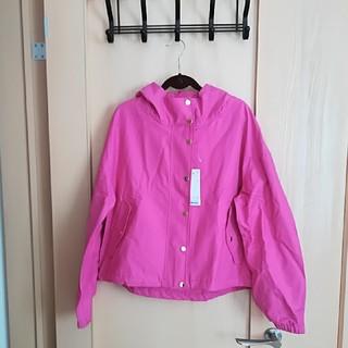 ジーユー(GU)の♪5点以上特別セール♪GU ピンクのマウンテンパーカー(ブルゾン)