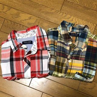 ザラ(ZARA)のZARA メンズシャツ Mサイズ(Tシャツ/カットソー(半袖/袖なし))