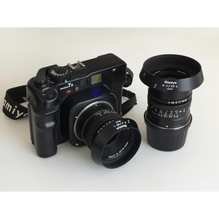 マミヤ(USTMamiya)の【値下げしました】マミヤ7Ⅱ MAMIYA7Ⅱ  N80mm N65mm セット(フィルムカメラ)