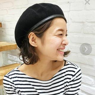 トゥデイフル(TODAYFUL)のviaj キャナルジーン ベレー帽(ハンチング/ベレー帽)