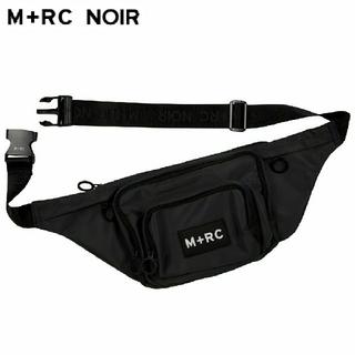 新品!マルシェノア M+RC NOIR 18SS ボディーバッグ 黒(ボディーバッグ)