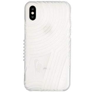 ナイキ(NIKE)のNIKE(ナイキ) エアフォース1 iPhoneX ケース トランスルーセント(iPhoneケース)