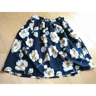 シュープリームララ(Supreme.La.La.)のシュープリームララフラワースカート(ひざ丈スカート)