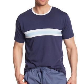 オルタナティブ(ALTERNATIVE)のAlternativeオルタナティブ 新品 メンズ 半袖Tシャツ ネイビー S(Tシャツ/カットソー(半袖/袖なし))
