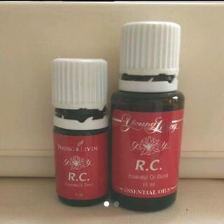 ヤングリヴィング RC 2本セット(エッセンシャルオイル(精油))